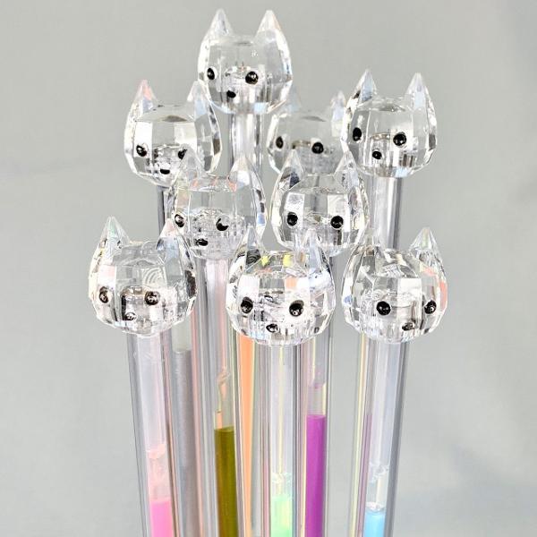 bcmini Rainbow Diamond Cat Gel Pen