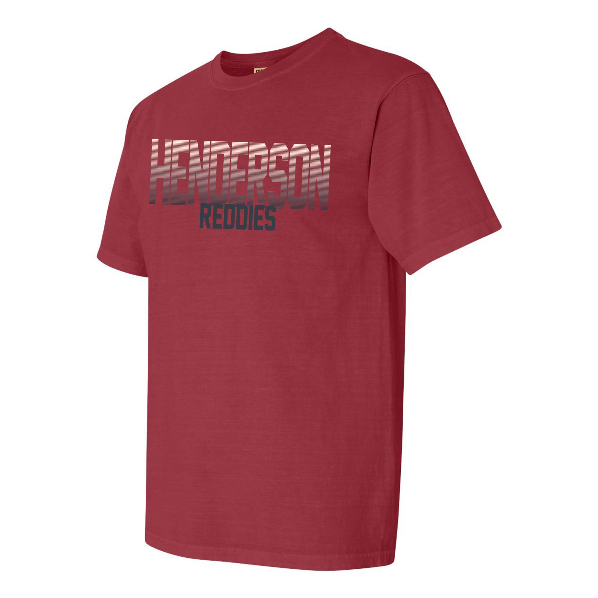image of: Henderson Reddies Fade Comfort Colors Short Sleeve T-Shirt