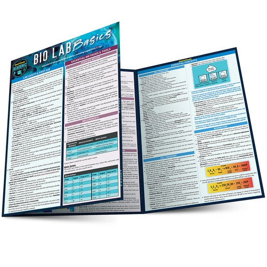 BIO LAB BASICS LAMINATED STUDY GUIDE