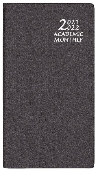 2021-2022 Frosted Academic Monthly Pocket Planner 3.5x6.5 - Assorted Colors