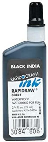 BLACK INDIA INK