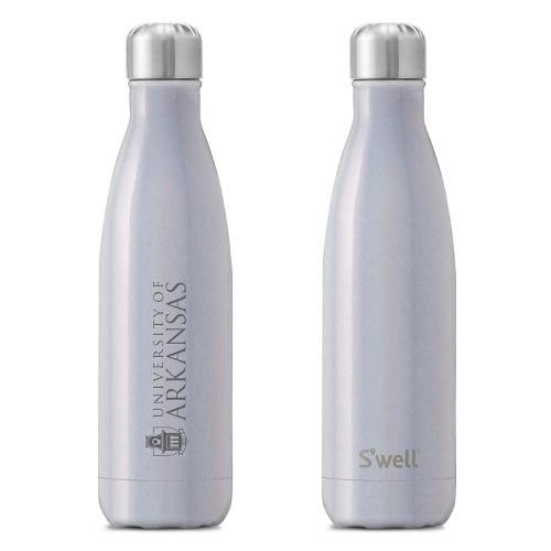 University of Arkansas S'well 17oz Bottle- Milkyway