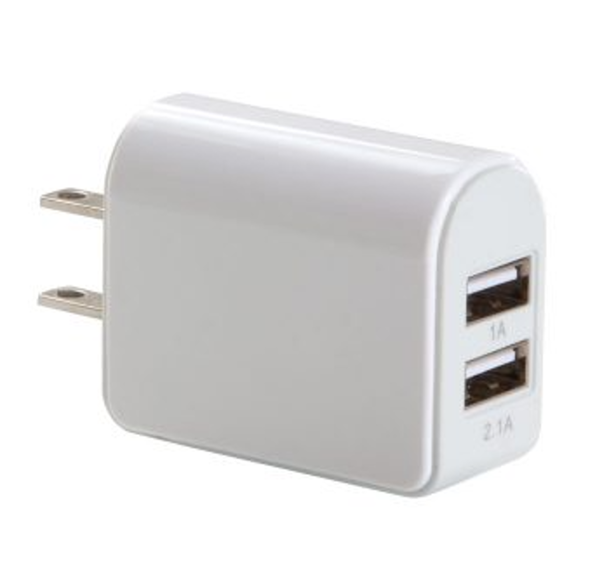 image of: Dual USB Charger/Adapter