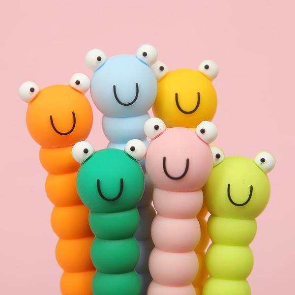 bcmini Cute Caterpillar Gel Pen