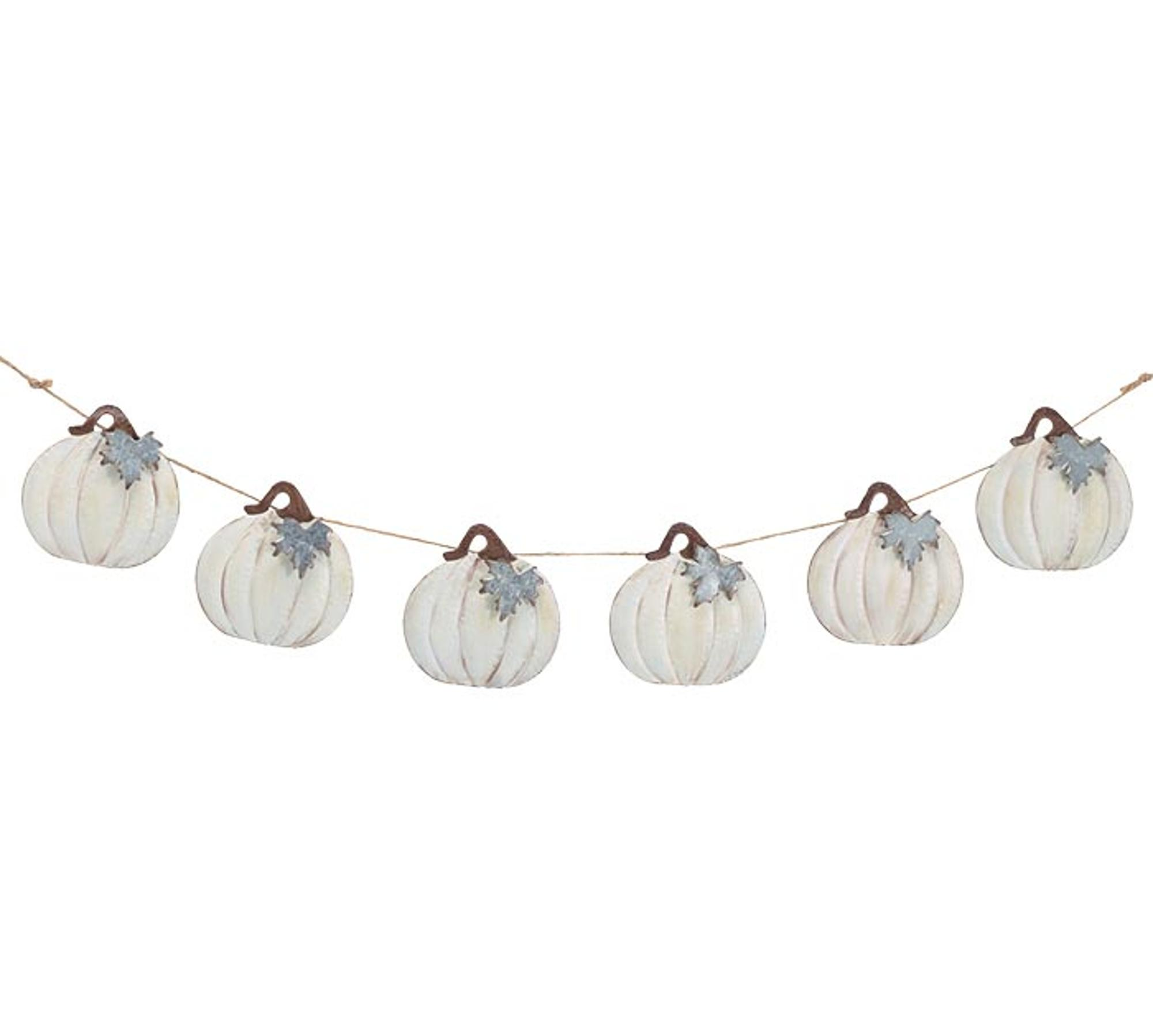 image of: Wall Hanging Cream Pumpkin