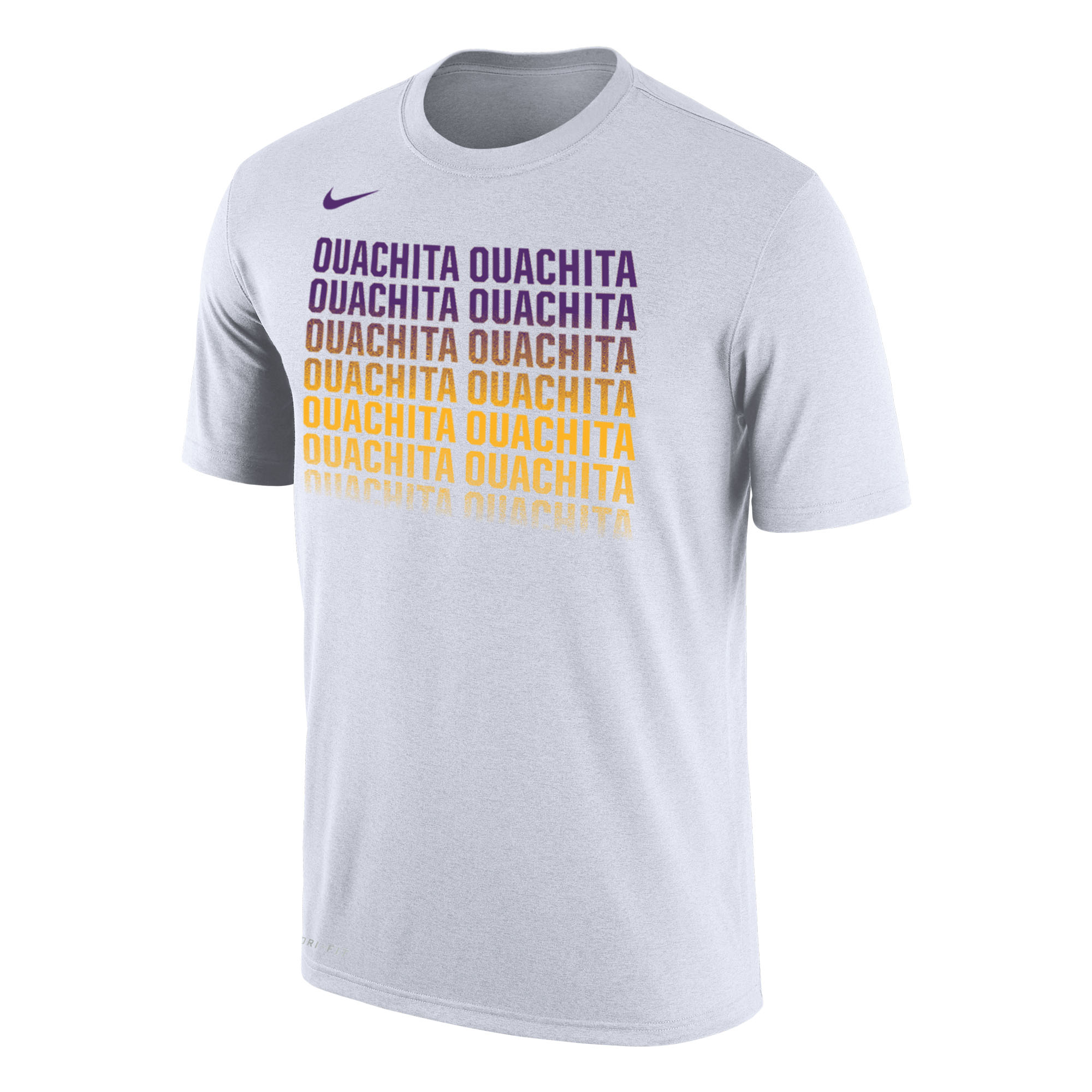 image of: OUACHITA NIKE DRI-FIT SS OMBRE TEE