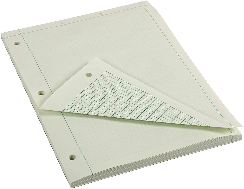 "image of: Engineering Computation Pad, 8.5"" x 11"", Quad/Margin Rule, 100 Sheets"