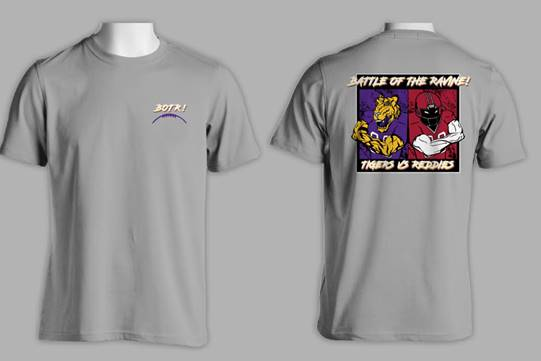 image of: BATTLE OF THE RAVINE SS TEE