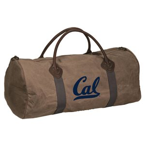 Detailed image of Waxed Cotton Canvas Duffel Bag