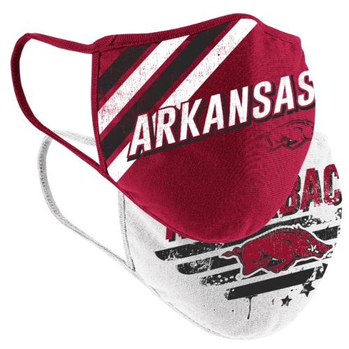 Youth Arkansas Razorback Masks - 2 pk