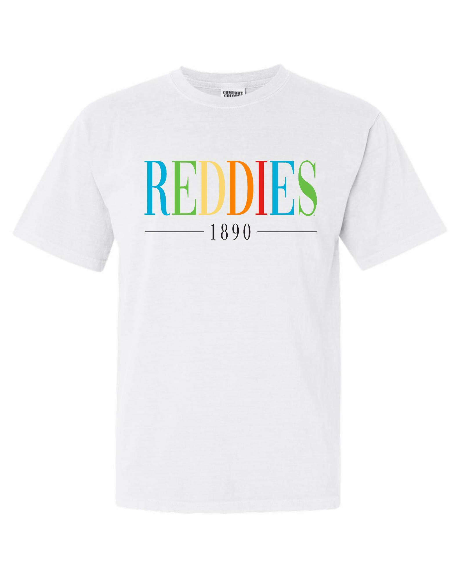 image of: Reddies 1890 Comfort Colors Short Sleeve T-Shirt