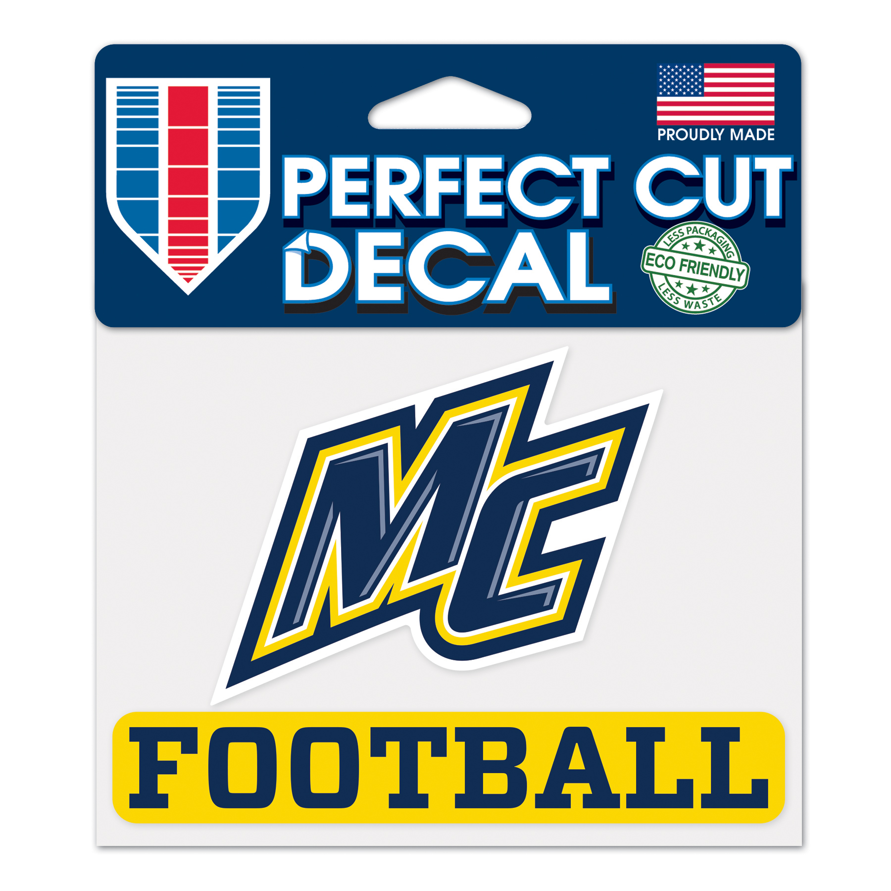 NEW FONT FOOTBALL DECALE