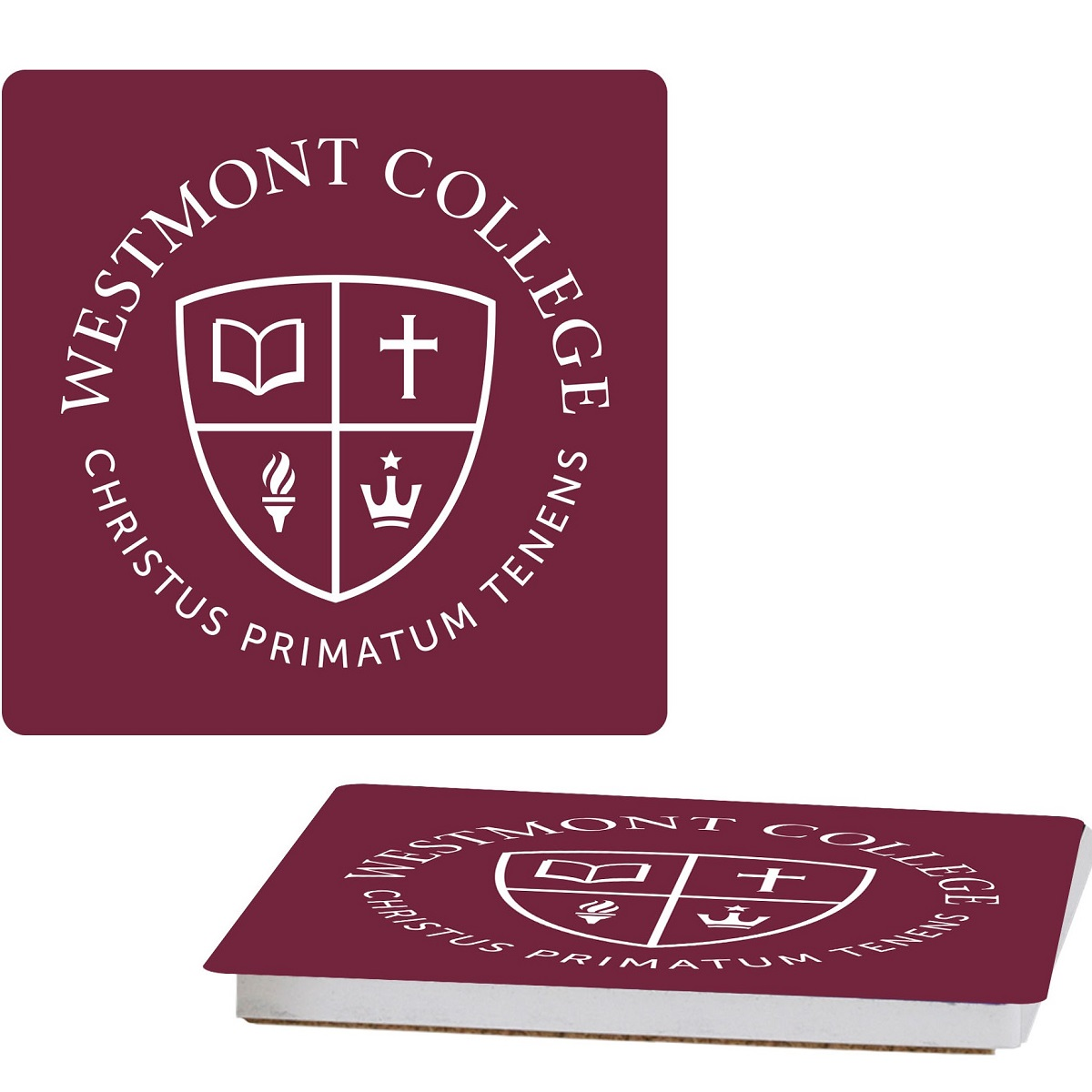 image of: Spirit Westmont Seal Stone Coaster
