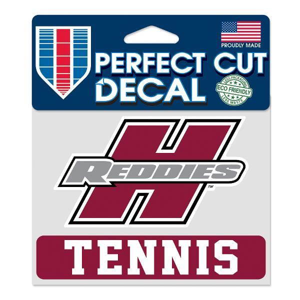 "Henderson Reddies 4"" x 5"" Tennis Perfect Cut Decal"