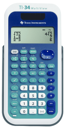 TI-34 Intermediate Scientific Calculator