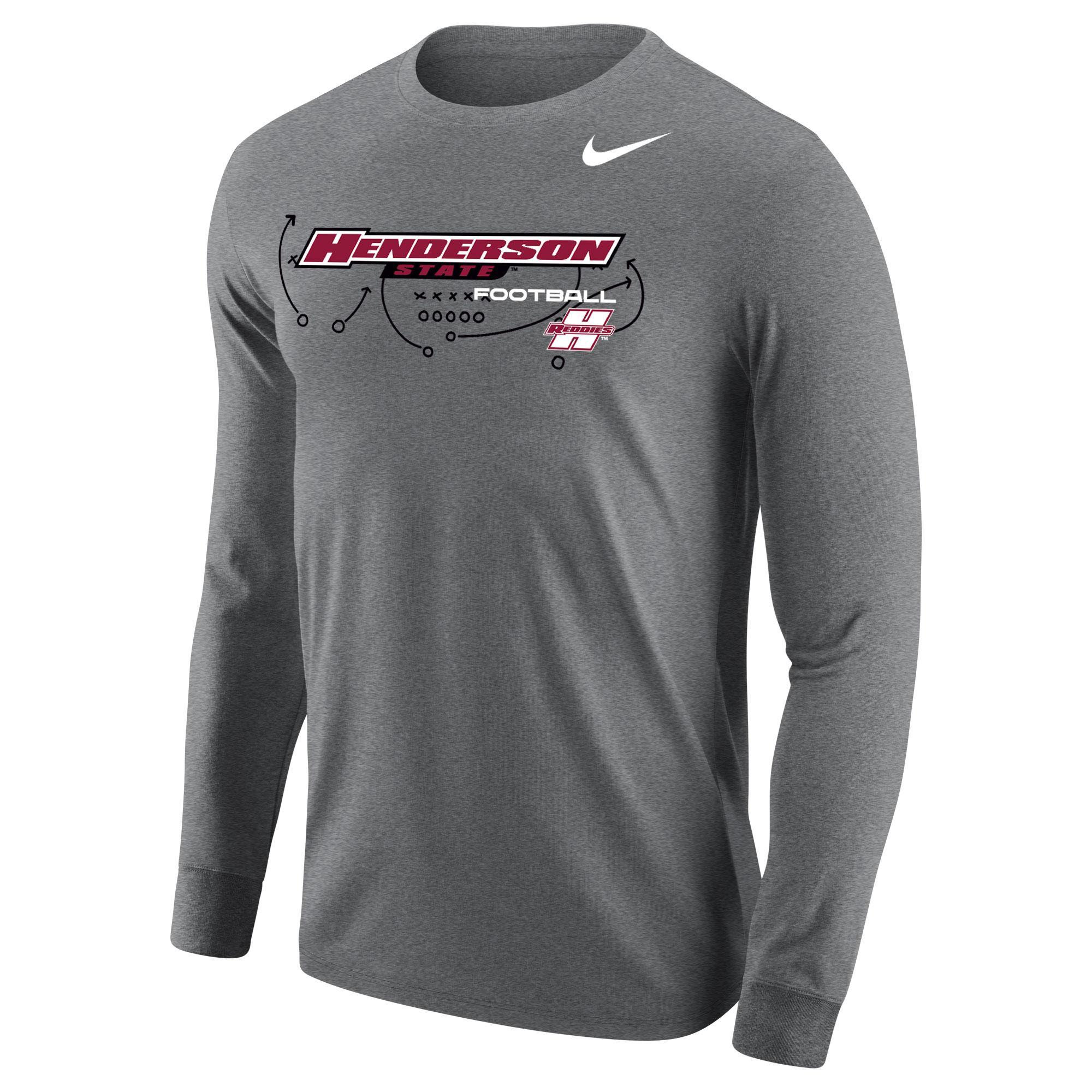 image of: Henderson State Football Core Long Sleeve T-Shirt