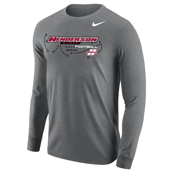 Henderson State Football Core Long Sleeve T-Shirt