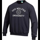 Image for the Unisex Black Crew Neck Sweatshirt product