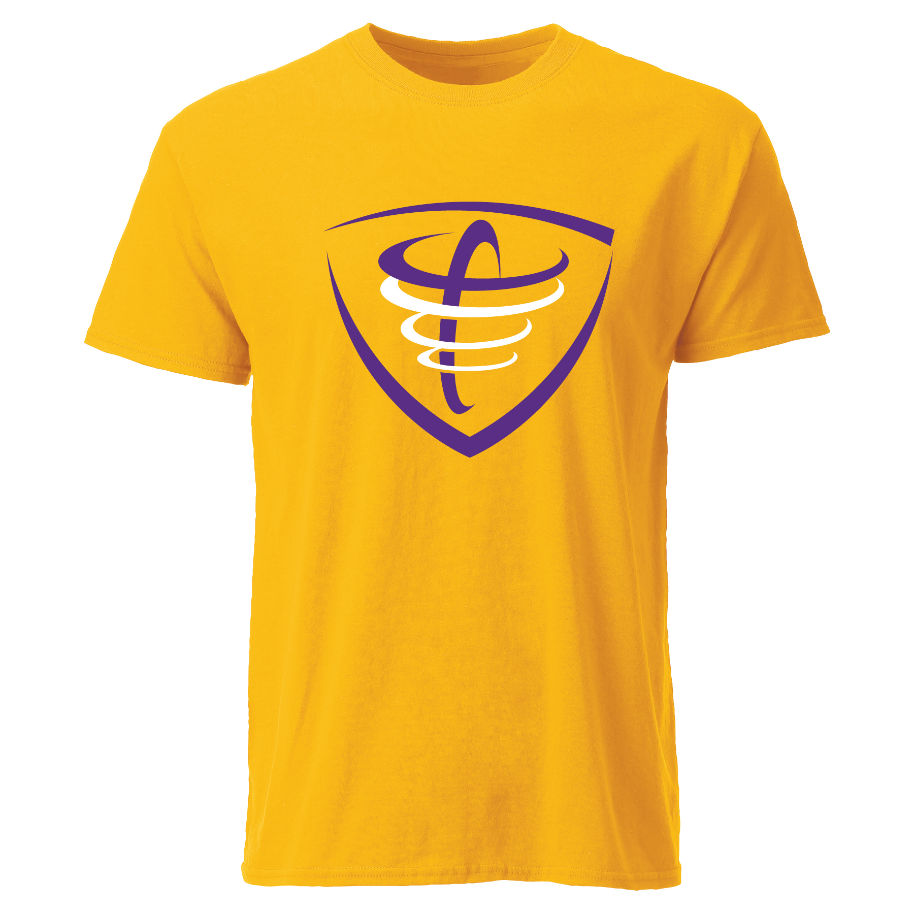 image of: Tornado Tee - Athletic Gold
