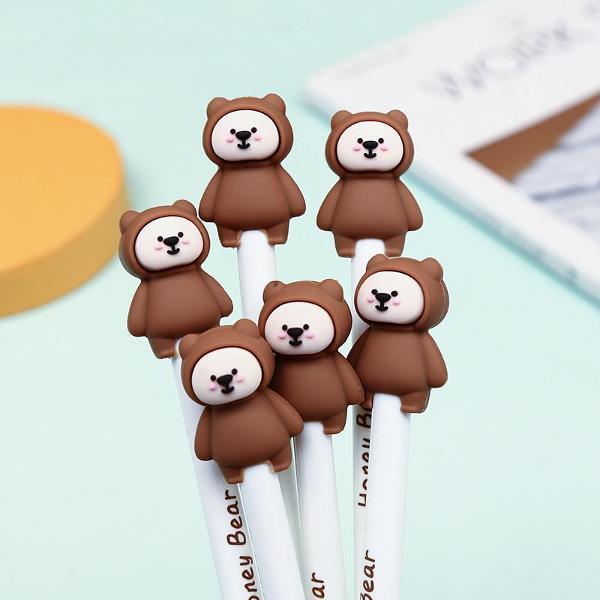 bcmini Honey Bear Retractable Gel Pen