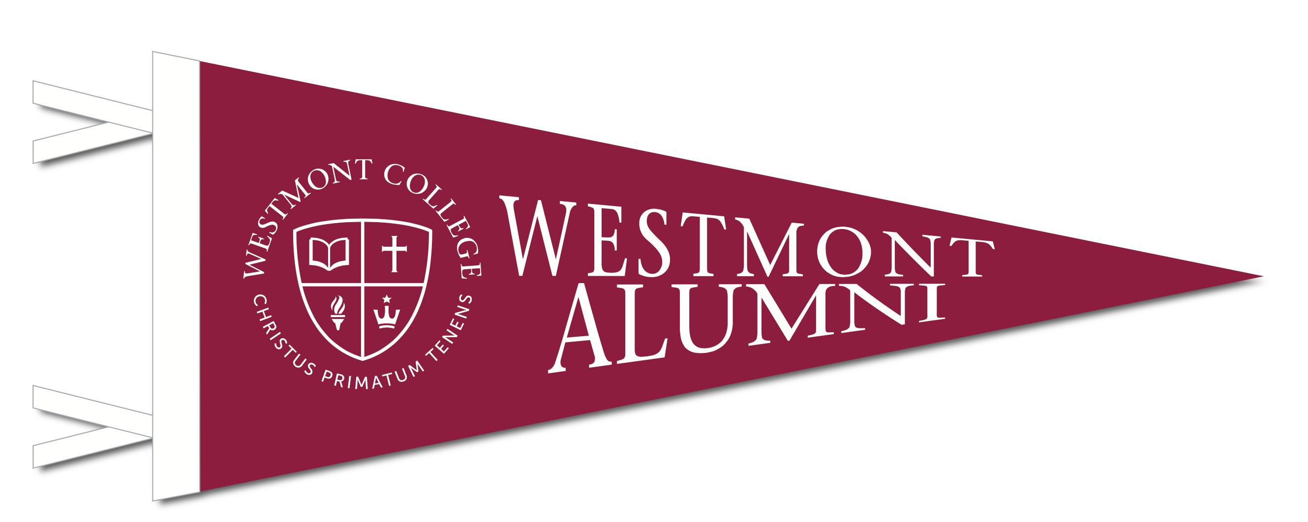 image of: Collegiate Pacific Alumni Pennant 6 x 15 in