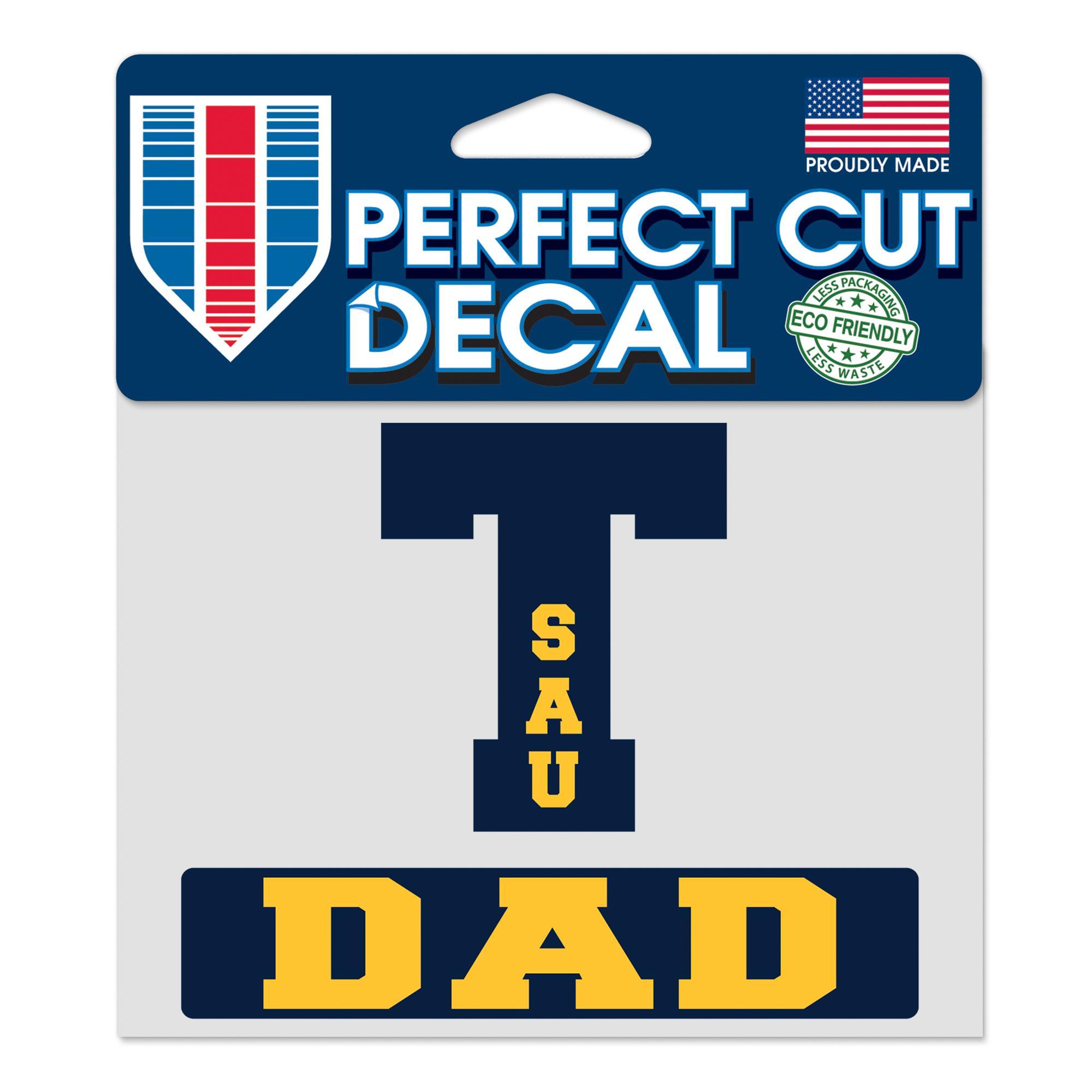 image of: SAU Tech Dad Perfect Cut Decal