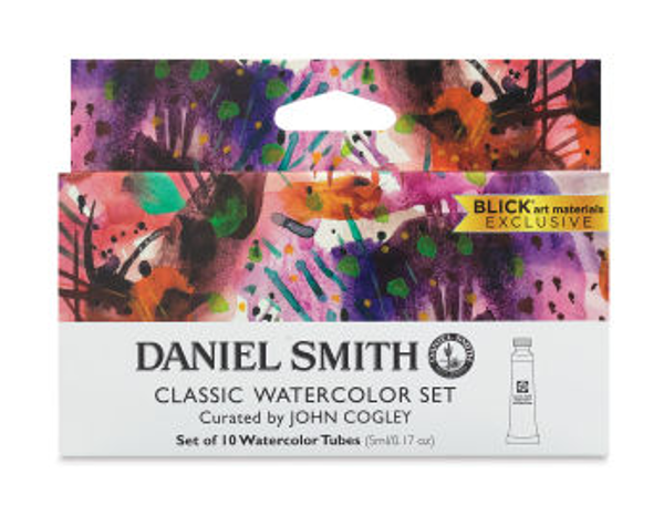 Daniel Smith Extra Fine Watercolor - Classic, Set of 10, 5 ml Tubes