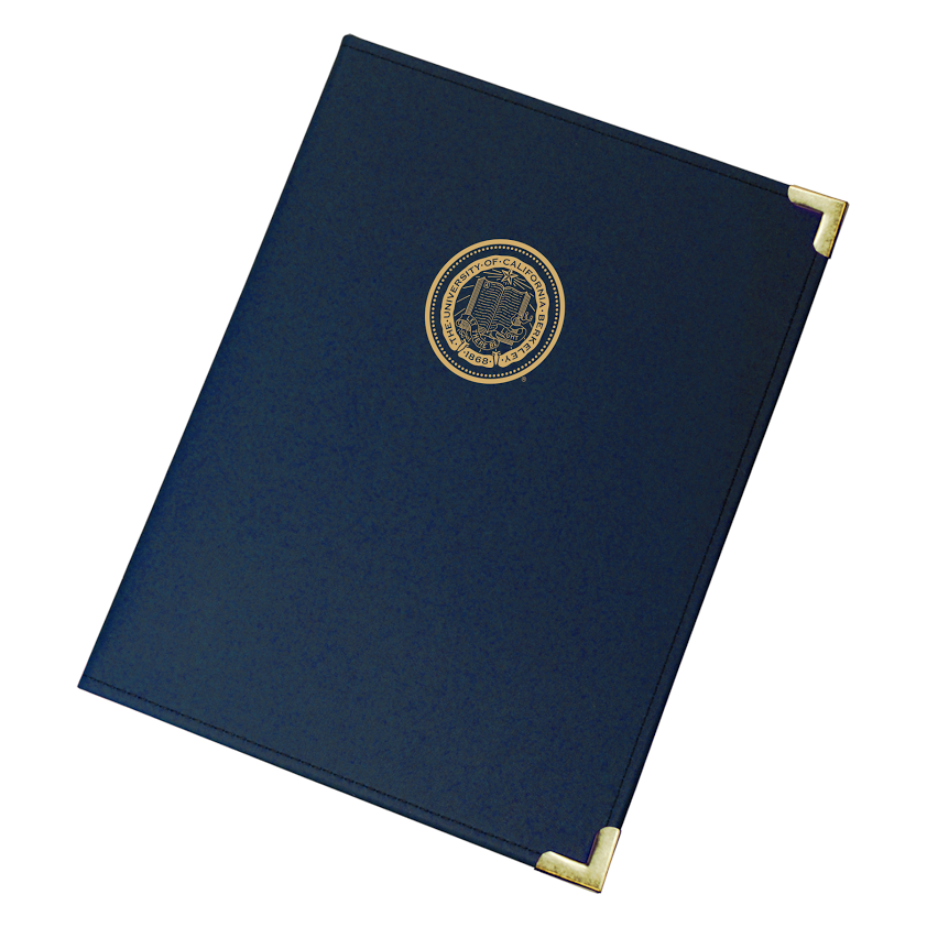 Imprinted Classic Padfolio Berkeley Seal