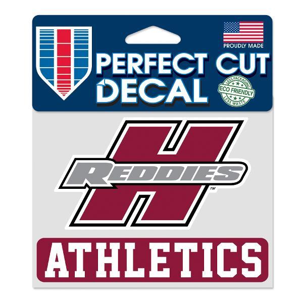 "Henderson Reddies 4"" x 5"" Athletics Perfect Cut Decal"