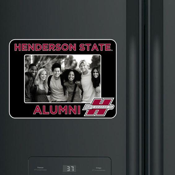 image of: Henderson State Alumni Photo Frame Magnet