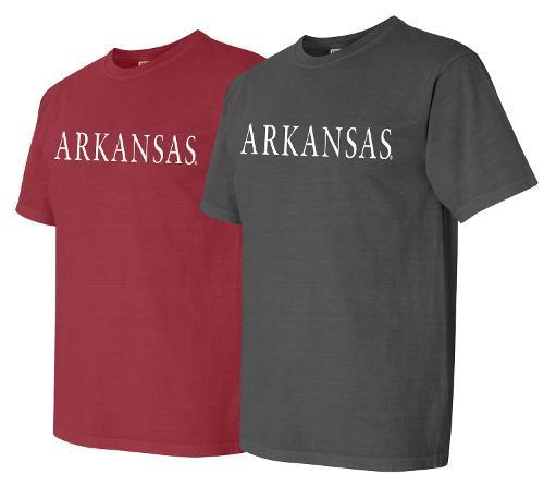 Arkansas Comfort Color Short Sleeve Tee