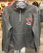 Image for the Champion Gray Athletic 1/4 zip fleece product