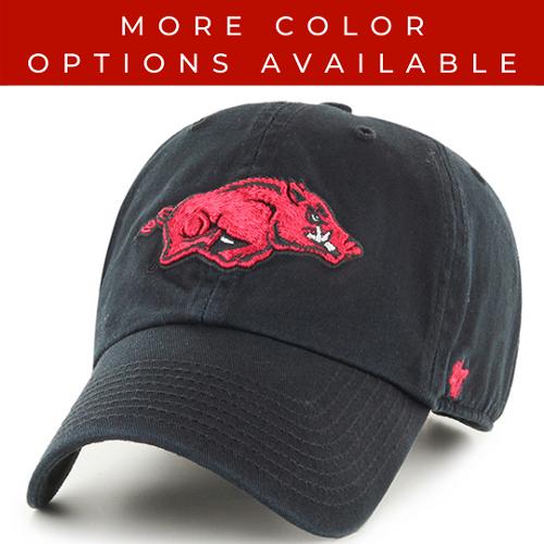 Arkansas Razorbacks '47 Brand Running Hog Clean Up Hat