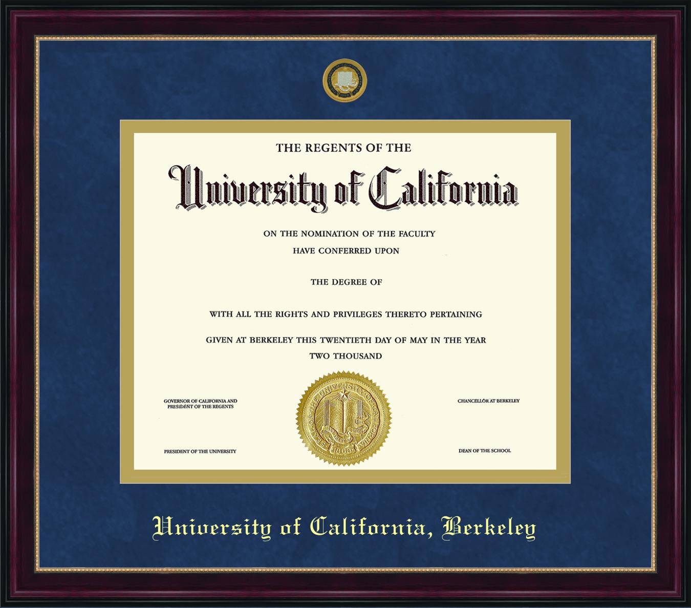 Diploma Frame Sienna