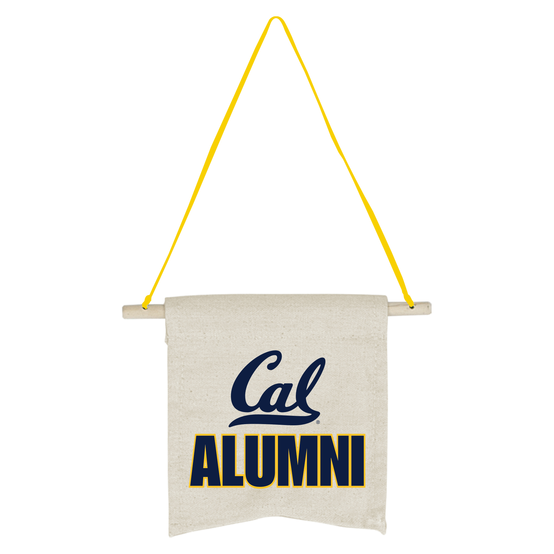 Detailed image of Cal Alumni Canvas Banner
