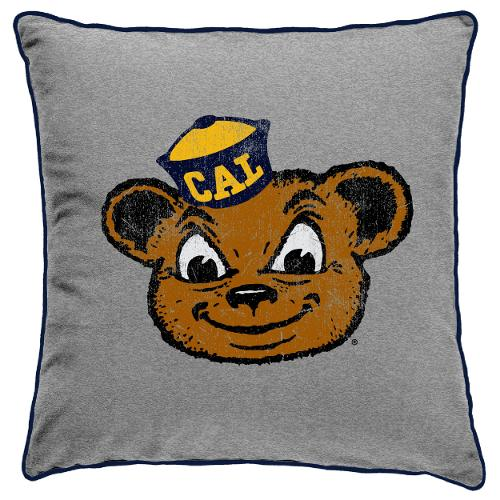 Spirit Pillow Oski Mascot Logo 14 x 14