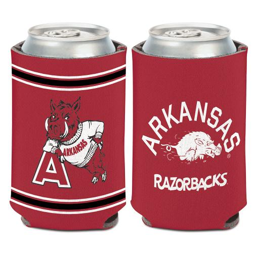 Arkansas Razorbacks Vintage Logos Can Koozie