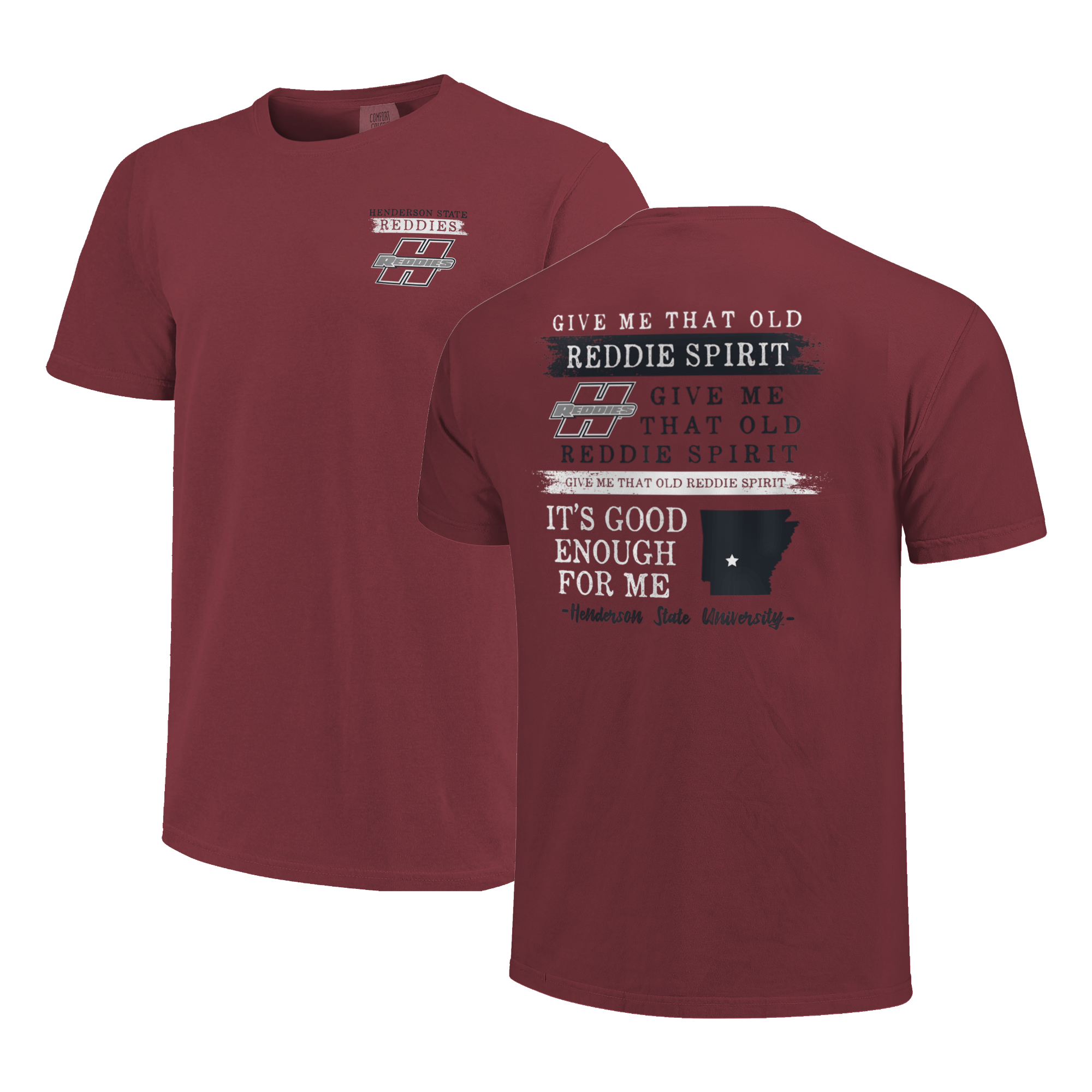 image of: Henderson State Reddies Fight Song Short Sleeve T-Shirt