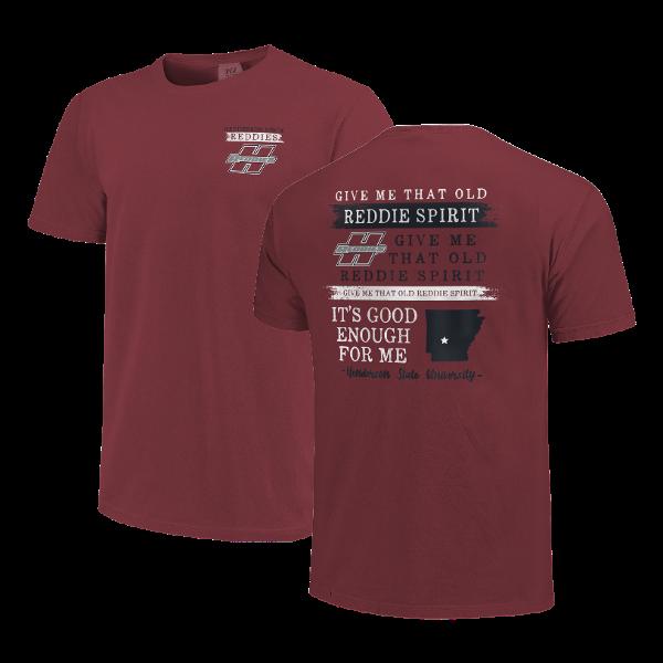 Henderson State Reddies Fight Song Short Sleeve T-Shirt