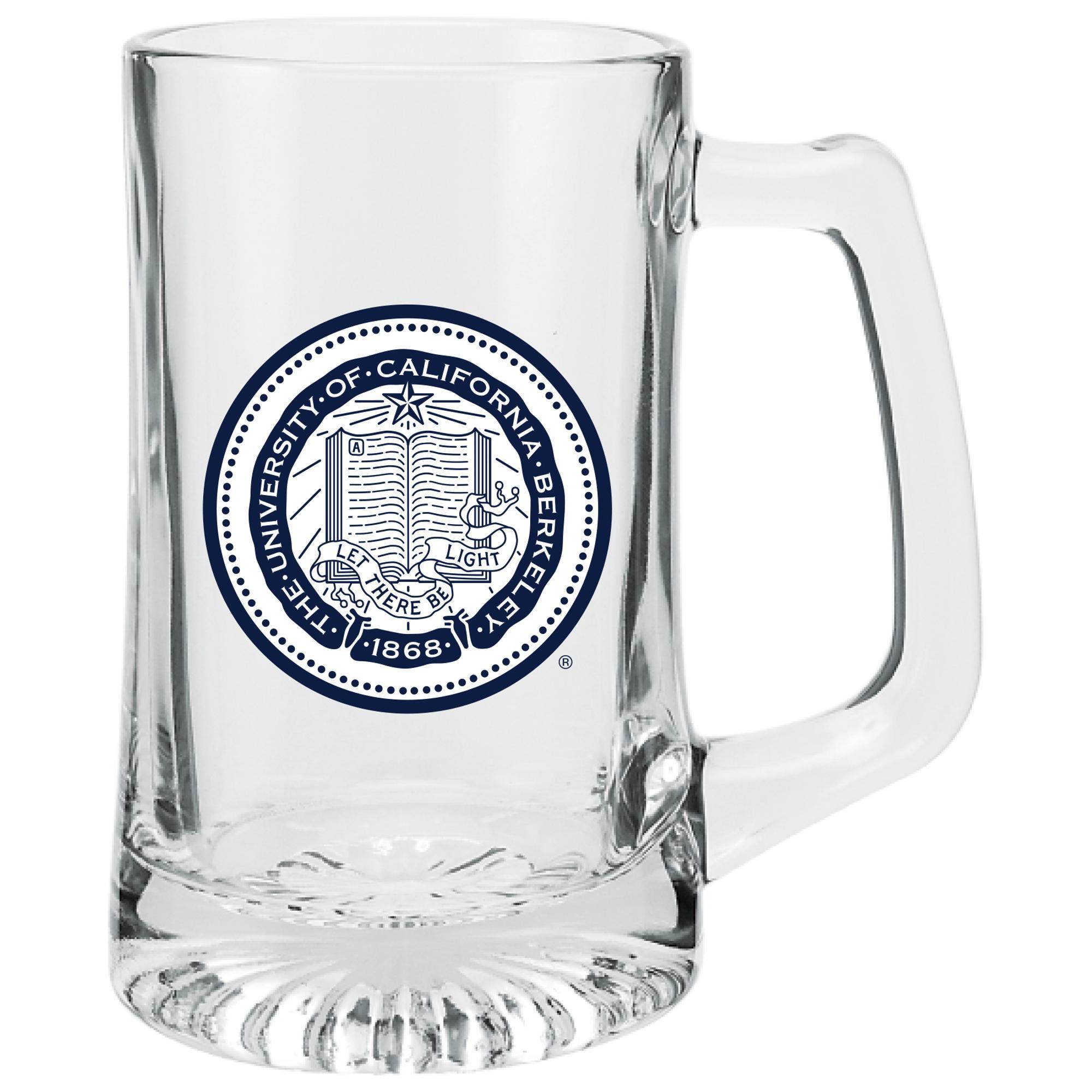 Image for 25oz Glass Sport Mug Berkeley Seal