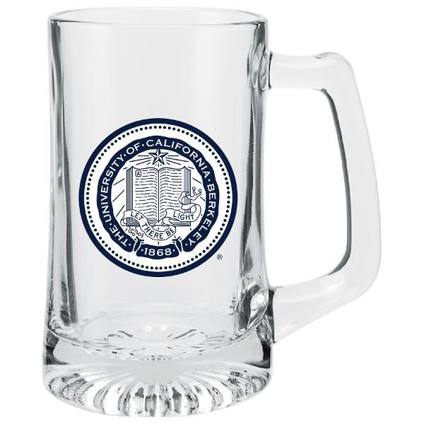 25oz Glass Sport Mug Berkeley Seal