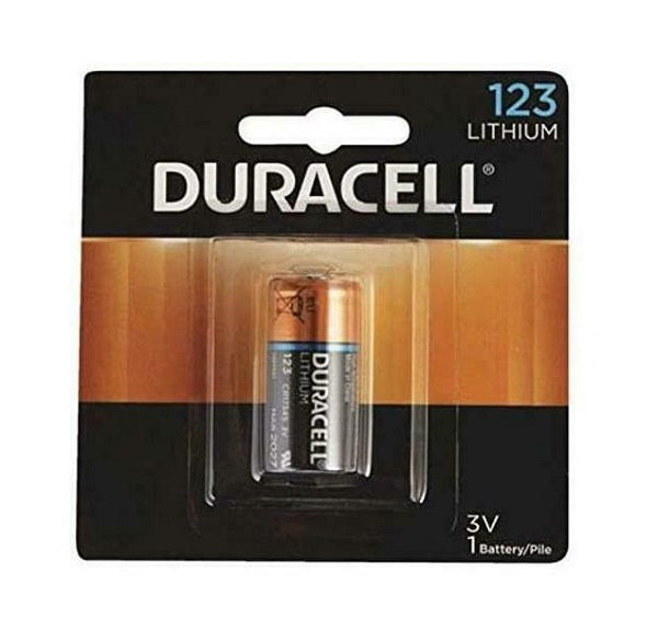 image of: Duracell 123 Lithium Battery