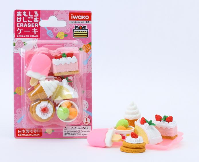 BCMini Iwako Cake Eraser