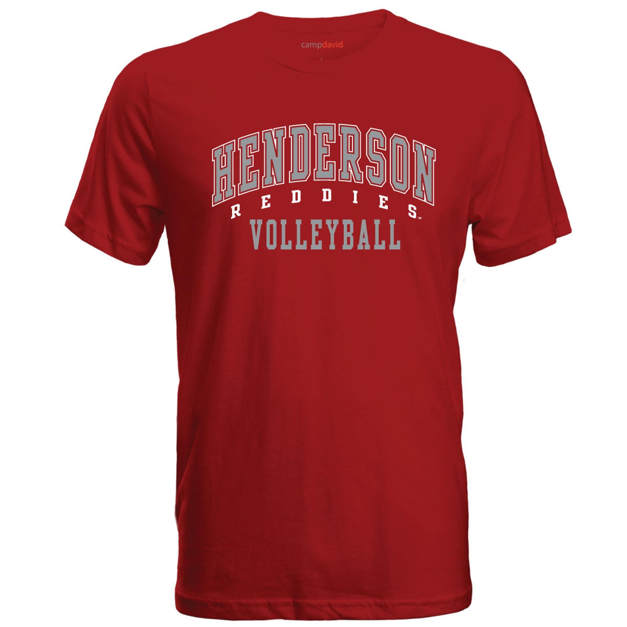 image of: Henderson Reddies Volleyball Cruiser Tee