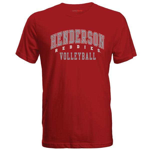 Henderson Reddies Volleyball Cruiser Tee