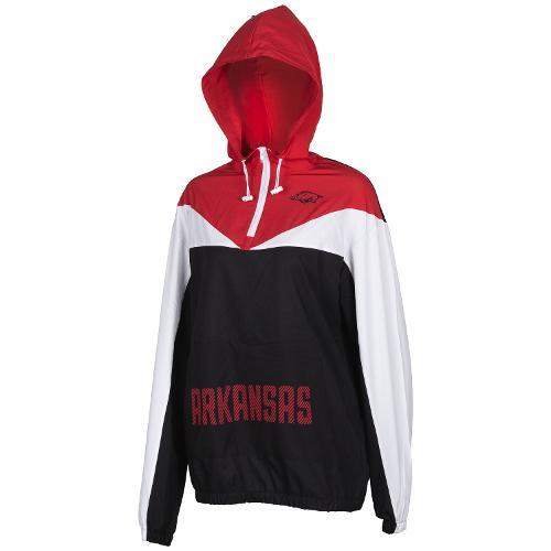 MD25-Arkansas Razorbacks Women's Swish Pullover Jacket