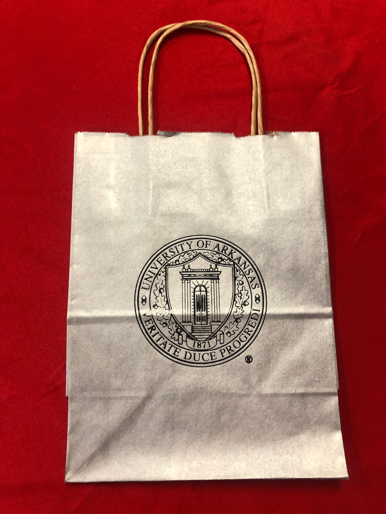 image of: University of Arkansas Gift Bag