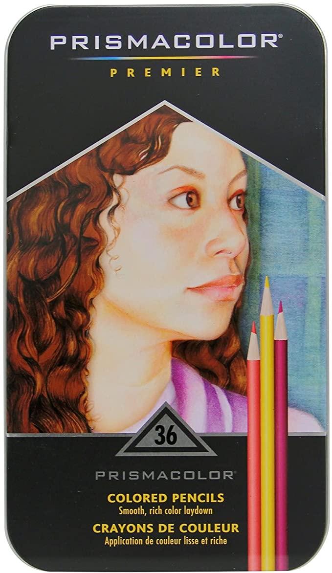 image of: Prismacolor 36 Color Pencil Set