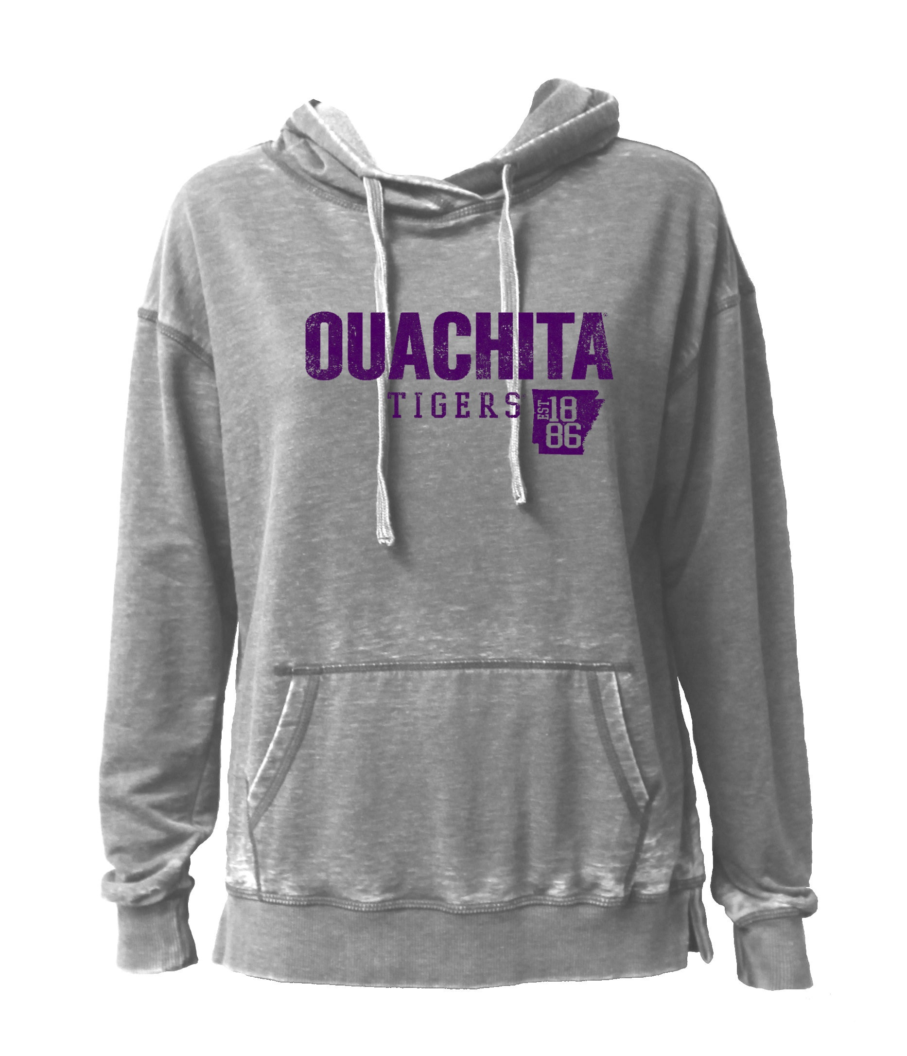 image of: OUACHITA TIGERS EST 1886 HOODED PULLOVER