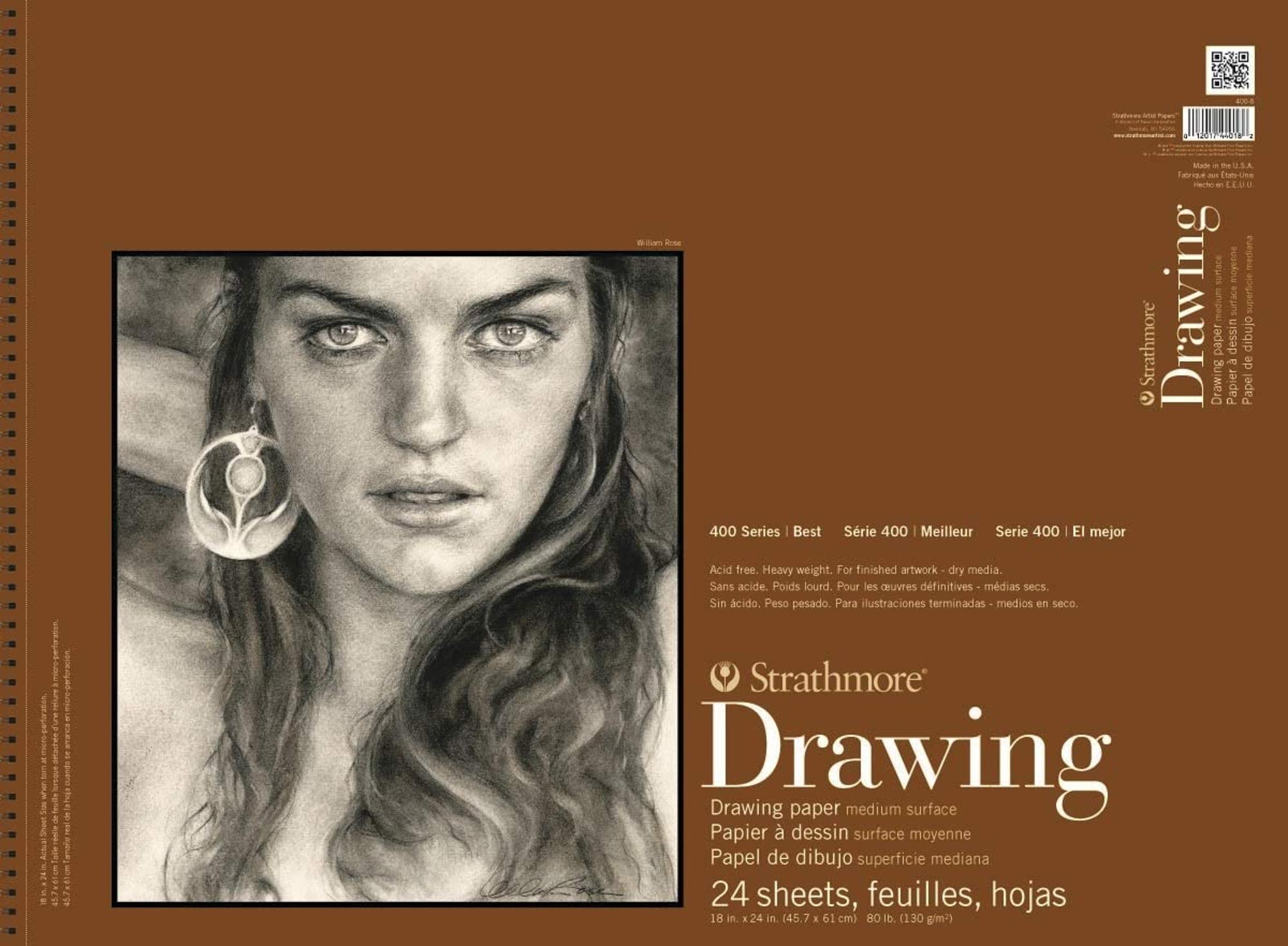 image of: Strathmore 400-8 400 Series Drawing Pad